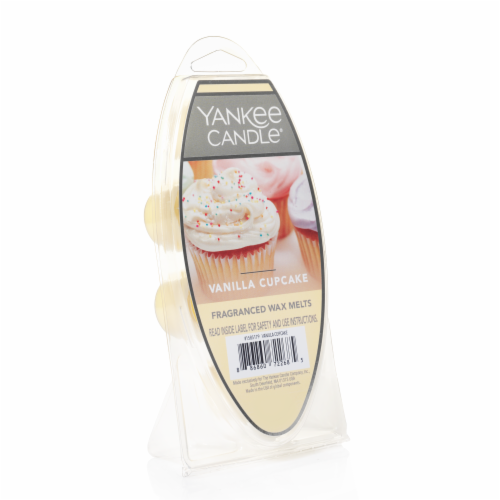 Yankee Candle Vanilla Cupcake Fragranced Wax Melts Perspective: front