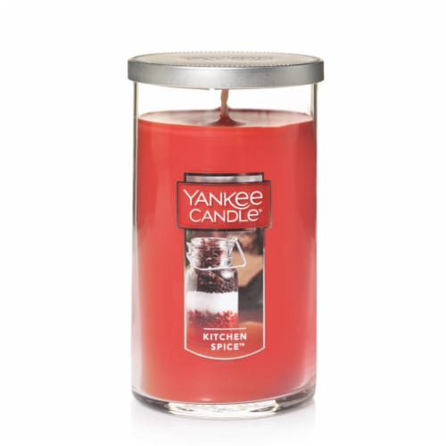 Yankee Candle Kitchen Spice Jar Candle - Red Perspective: front