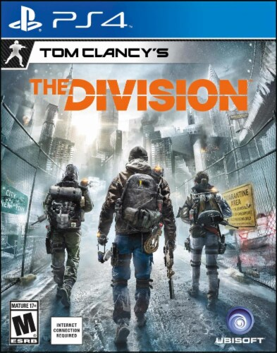 Tom Clancy's The Division (PlayStation 4) Perspective: front