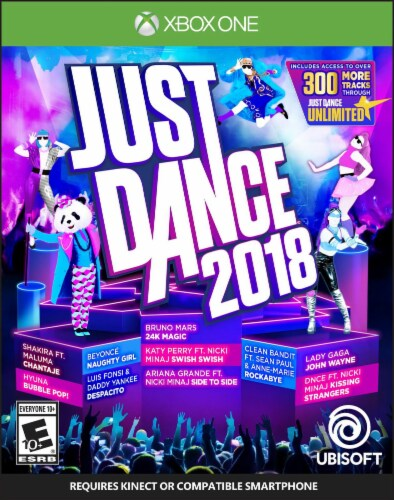Just Dance 2018 (Xbox One) Perspective: front