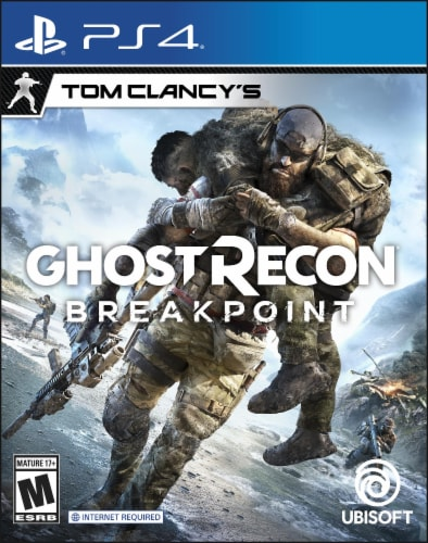 Ghost Recon: Breakpoint (Playstation 4) Perspective: front