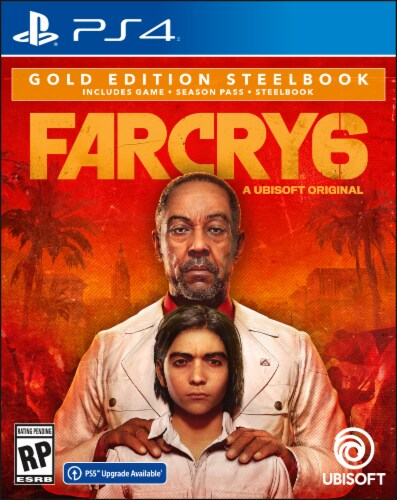 Far Cry 6 Gold Edition Steelbook (PS4/PS5) Perspective: front