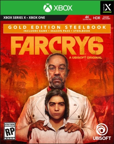 Far Cry 6 Gold Edition Steelbook (XB1/XBO) Perspective: front