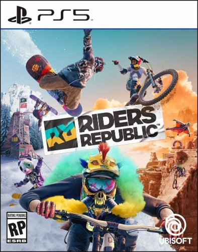Playstation 5 Riders Republic Perspective: front