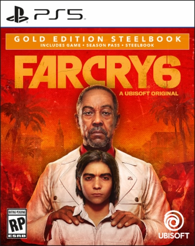 Far Cry 6 Gold Edition Steelbook (PS5) Perspective: front