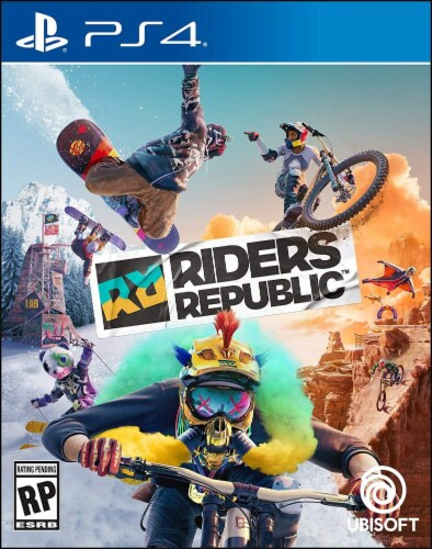 Playstation 4 Riders Republic Perspective: front
