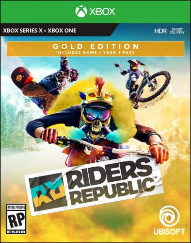 Riders Republic Gold Edition (XBox) Perspective: front