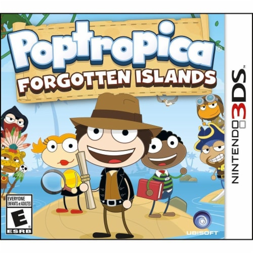 Poptropica Forgotten Island 3DS Game Perspective: front