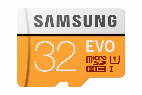 Samsung 32GB Micro SDHC Card Perspective: front