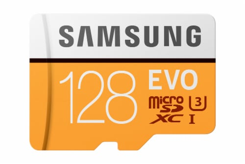 Samsung 128GB Micro SDHC Card Perspective: front