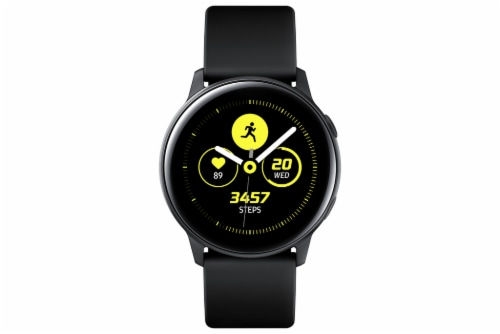 Samsung Galaxy Watch Active - Black Perspective: front