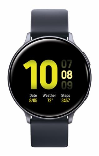 Samsung Galaxy Active2 Smart Watch - Aqua Black Perspective: front