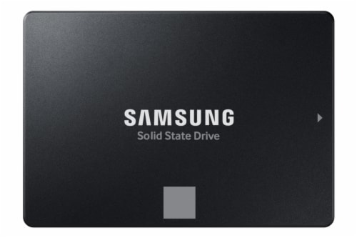 Samsung EVO Solid State Drive Perspective: front