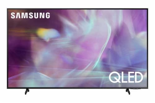 Samsung Black Q60A QLED 4K Smart TV Perspective: front