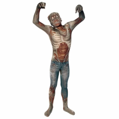 Morris Costume MH09788 Morph Zombie Child Costume, Medium Perspective: front