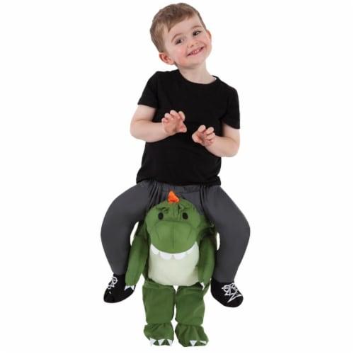 Morris Costumes MHPBTTR Toddler T-Rex Piggyback Costume Perspective: front