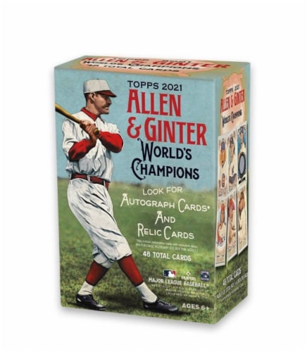2021 Topps Allen & Ginter Baseball Value Pack Perspective: front
