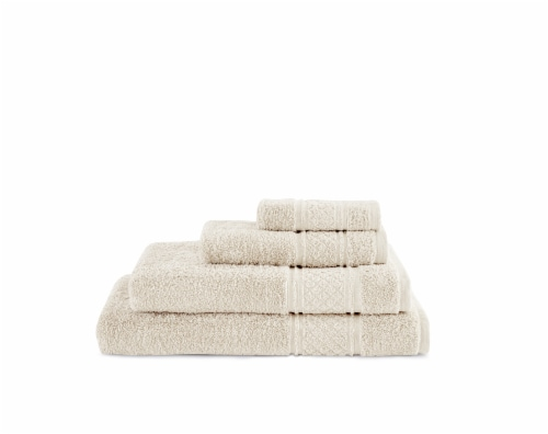 Martha Stewart Egyptian Cotton Bath Towel - Ivory Perspective: front
