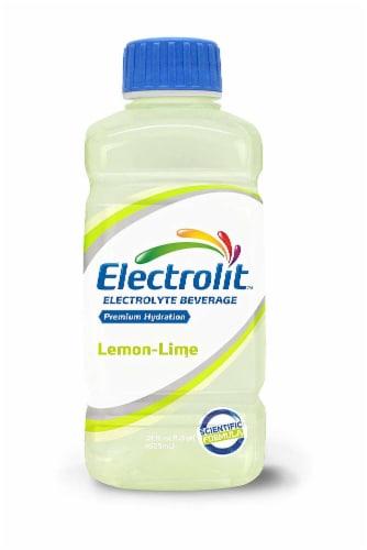 Electrolit Lime-Lemon Electrolyte Beverage Perspective: front