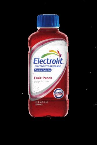 Electrolit Fruit Punch Electrolyte Beverage Perspective: front
