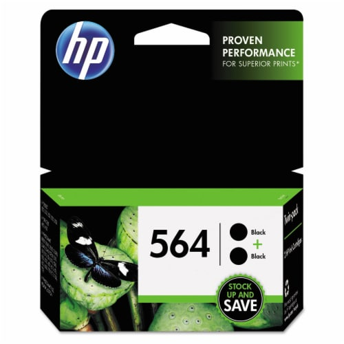 HP 564 Ink Cartridges - Black Perspective: front