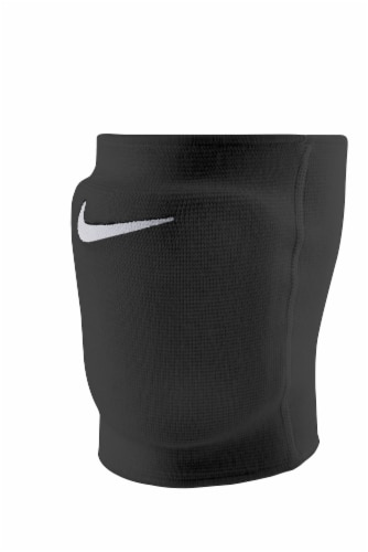 Nike Essential Medium/Large Volleyball Knee Pads - Black Perspective: front
