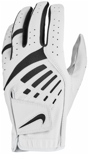 Nike Dura Feel Pearl Glove - White/Black Perspective: front