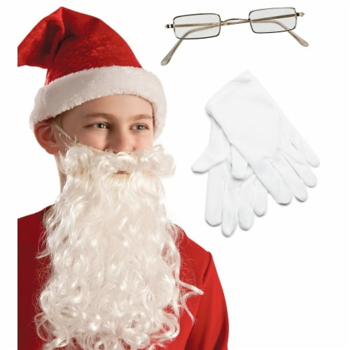 Buyseasons 275508 Child Santa Kit - One Size Perspective: front
