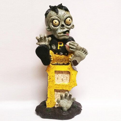 Pittsburgh Pirates Zombie Figurine - On Logo Perspective: front