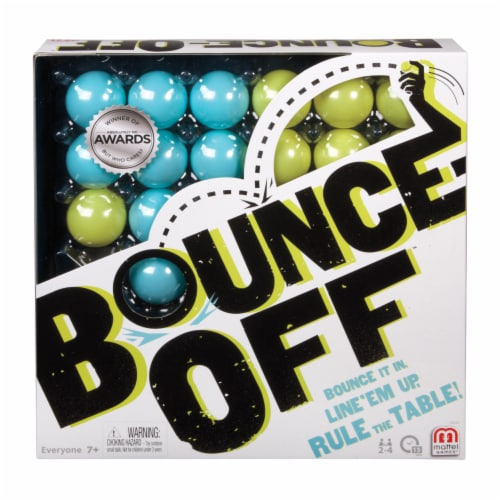Mattel Bounce-Off ™ Game Perspective: front