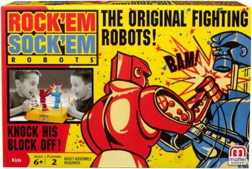 Mattel Rock 'Em Sock 'Em Robots Game Perspective: front