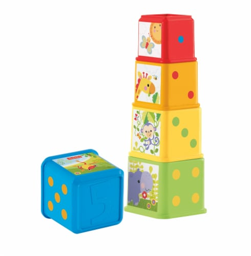 Fisher-Price® Stack and Explore Blocks Perspective: front