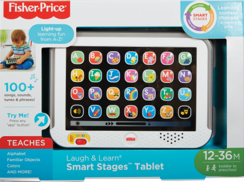 Fisher-Price® Laugh & Learn® Smart Stages™ Toy Tablet Perspective: front
