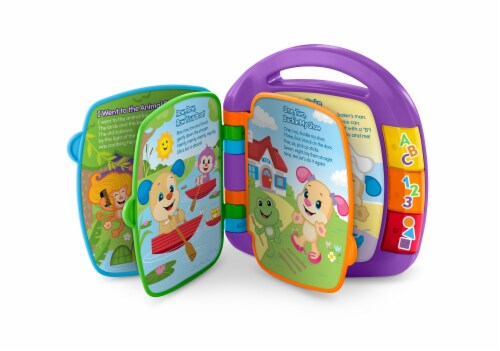 Fisher-Price® Laugh and Learn Storybook Rhymes Book Perspective: front