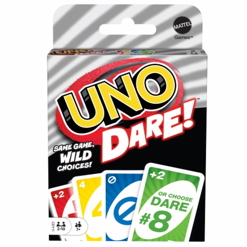 Mattel Uno Dare!™ Card Game Perspective: front
