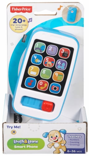 Fisher-Price® Laugh & Learn Toy Smart Phone - Assorted Perspective: front