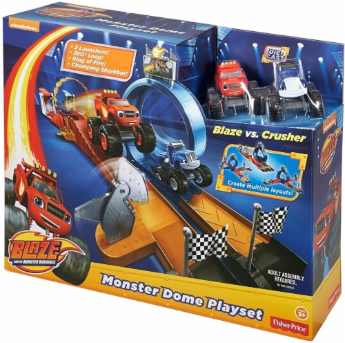 Fisher-Price Nickelodeon Blaze & the Monster Machines, Monster Dome Playset Perspective: front