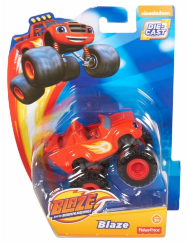 Fisher-Price® Nickelodeon Blaze and the Monster Machines Blaze Toy Perspective: front