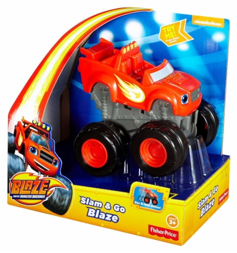 Fisher-Price® Blaze and the Monster Machines Slam & Go Blaze Vehicle Perspective: front