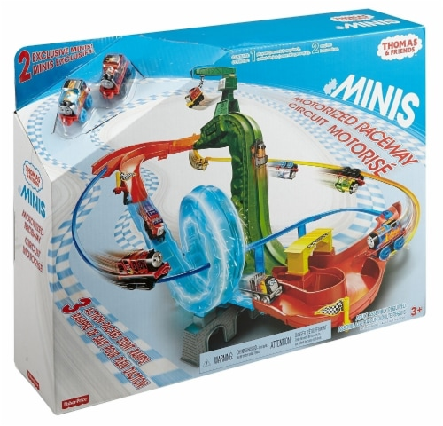 Fisher-Price Thomas & Friends MINIS Motorized Raceway Playset Perspective: front