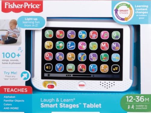 Fisher-Price® Laugh & Learn Smart Stages Toy Tablet Perspective: front
