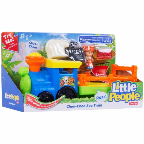 Fisher-Price Little People Choo-Choo Zoo Train Perspective: front