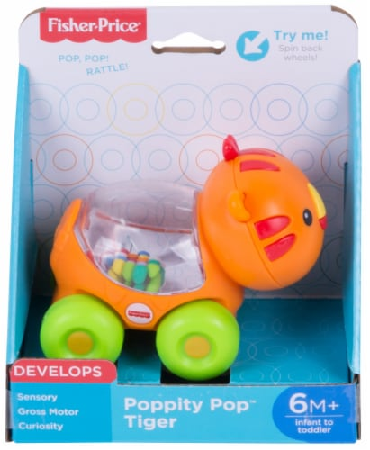 Fisher-Price® Poppity Pop Tiger Toy Perspective: front