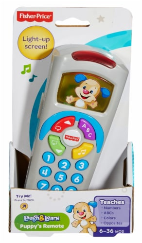 Fisher-Price® Laugh & Learn™ Puppy's Remote Perspective: front