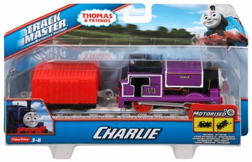 Fisher-Price® Thomas & Friends TrackMaster Fiery Flynn Motorized Engine Toy Perspective: front