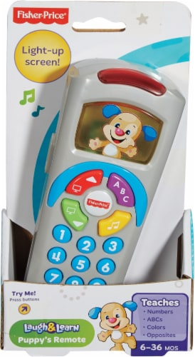 Fisher-Price® Laugh & Learn Puppy's Remote Perspective: front