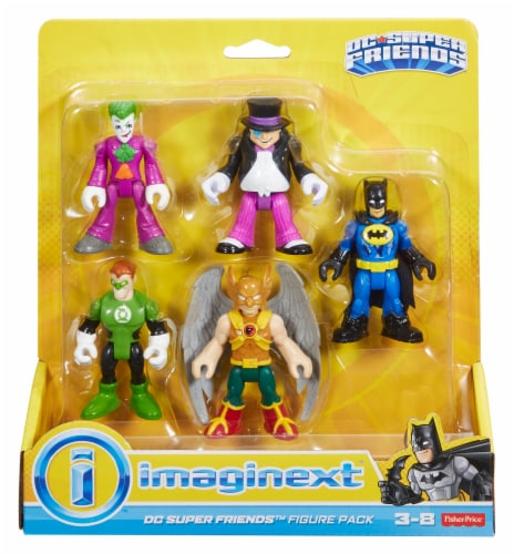 Fisher-Price® Imaginext® DC Super Friends™ Figure Pack Perspective: front