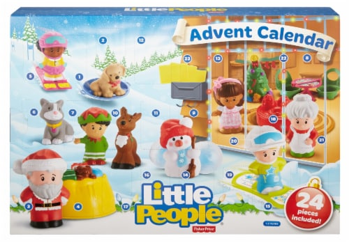 Fisher-Price® Little People® Advent Calendar Perspective: front