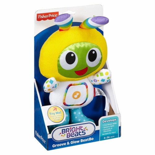Fisher Price Bright Beats Goove And Glow BeatBo Plush Perspective: front