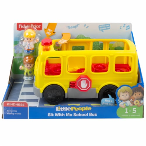 Fisher-Price® Little People® Sit With Me School Bus Perspective: front